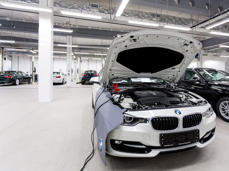 Сервис BMW СПб